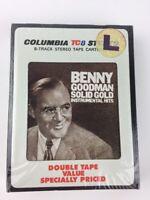 Columbia TC8 Benny Goodman 8 Track Tape *NEW SEALED Solid Gold Instrumental Hits