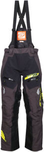 Arctiva Snow Snowmobile VIBE Snowbike Bibs/Pants (Black/Yellow) Pick Size