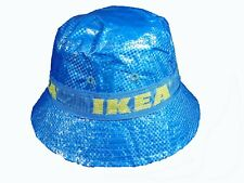 IKEA Bucket Hat KNORVA Frakta with Lining & Vent Holes Rain Hat Sun Hat
