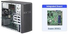 Supermicro SuperServer SYS-5037C-I Mid-Tower with X9SCL Motherboard