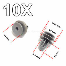 10X Interior Trim Panel Retainer, Door Card Clips for Honda, Daewoo