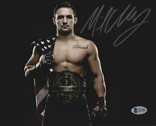 Michael Chandler Signed 8x10 Photo BAS Beckett COA Bellator Picture Autograph 5