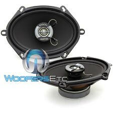 """FOCAL AUDITOR R-570C 5""""x7"""" 6""""x8"""" CAR AUDIO 2-WAY 240W MAX COAXIAL 4 OHM SPEAKERS"""