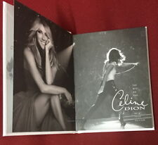 Celine Dion The Best So Far 2018 Tour Edition Taiwan Promo NOTEBOOK