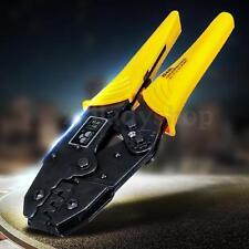 0.5-6mm² High-carbon Steel Ratchet Ferrule Crimp Pliers Crimper Crimping Tool