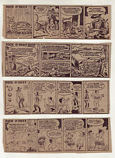 Rick O'Shay by Stan Lynde - 26 scarce daily comic strips - Complete July 1973