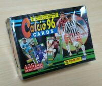 1996 Panini calcio96 Serie A Unopened.Trading Card Box.The outer box is damaged.