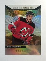 NICO HISCHIER - 2017-18 UPPER DECK TRILOGY LEVEL 1 ROOKIE PREMIERES #ed 586/999