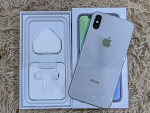Apple iPhone X 256GB Silver USA Version Unlocked (GSM + CDMA) Free Shipping