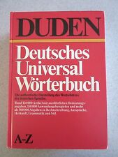 Duden Deutsches Universal Wörterbuch A-Z, German Dictionary, Cold War Edition