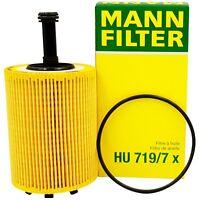 ORIGINAL Mann Filtro FILTRO DE ACEITE HU719/7X