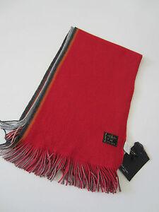 Paul Smith Jeans Striped scarf 100% Cotton   - BNWT