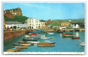 Postcard The Harbour, Folkestone, England UK C43