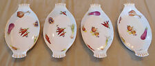 "4 Casserole Dishes Le Faune Louis Lourioux France 9.25"" Handled Baking Serving"