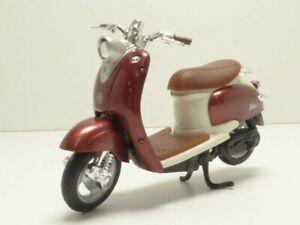 Scooter YAMAHA VINO YJ50R bordeaux 1/18