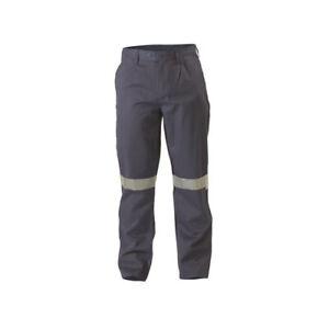 BISLEY  Flame Resistant Hi Vis Taped Drill Pant BP8000 MENS FIRE RETARDANT ClOTH