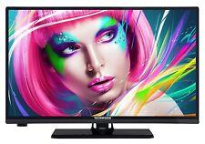 """Techwood H20T10A LED Fernseher 20"""" Zoll 51cm HD TV DVB-C/-T HDMI USB CI+ schwarz"""