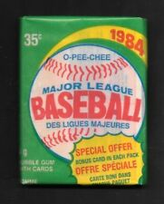 1984  OPC BASEBALL  , 1 WAX PACK      ( SEALED )