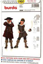Burda Sewing Pattern 2452 Burda Kids Pirate Costume