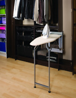 Finista _ Wardrobe Mounted Folding Ironing Board _ Home Storage Saving Solution
