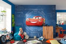 Disney wallpaper for children's bedroom Cars 3 Red & Blue wall mural photo art