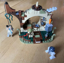 Completed LEGO Star Wars Yoda's Hut 75208