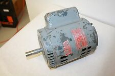 GE  5KC43MG65EX ELECTRIC MOTOR 1/2 HP, 115/230 VOLT, 1725 RPM, 1 PHASE