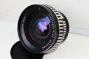 Rare Zebra Carl Zeiss Jena Flektogon f/4 20mm Wide Angle SLR lens M42 EXC