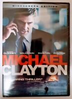 Michael Clayton DVD Widescreen Edition George Clooney Tilda Swinton New Sealed