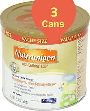 New listing 3 Cans Enfamil Nutramigen 19.8 oz cans