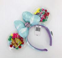 Rare Pixar Minnie Ears Disney Parks UP Grape Soda Cap Balloons 2020 Headband