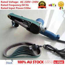 Variable Speed Electric Power Belt Sander Grinder Polisher for Metals 533*30MM
