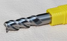4mm Alu-Power 55° 3 Flute Regular Length Carbide End Mill for Aluminum 2pcs
