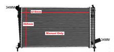 Radiator SAAB 95 9-5 2L B205E 2.3ltr B235L 4Cyl Turbo 1997-2001 Manual Brand New