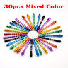 30 x Aluminum Alloy Darts Shafts Harrows Dart Stems Mixed Color 53mm 6 Color