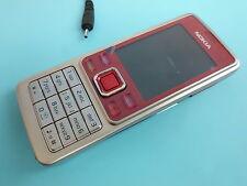 Nokia 6300 - Rot-Silber (Ohne Simlock) Handy wie Neu Top Zustand
