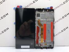 PANTALLA COMPLETA LCD+TACTIL CON MARCO HUAWEI ASCEND P10 NEGRA ENVIO 24H PENIN