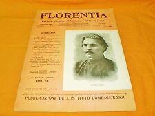 florentia rivista mensile di lettere arti scienze marzo 1905