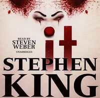 It: by Stephen King - Unabridged Audiobook - 35CDs
