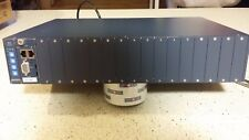 Aurora Networks Smart Media Converter Chassis w/ Management Module -CX2001B-Used