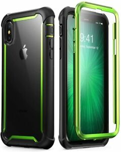 i-Blason For iPhone X/Xs Case Full-Body Protective Bumper Cover+Screen Protector