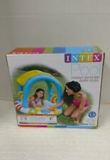 Intex Inflatable Sun Shaded Baby Pool