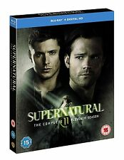 SUPERNATURAL SERIES 11 COMPLETE BLU RAY BOX SET NEW UK RELEASE