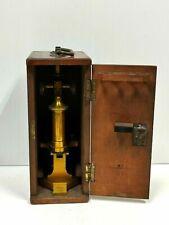 Antique R & J Beck Ltd. Microscope in Box