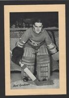 1934-44 Beehive Group I Montreal Canadiens Photos #152 Bert Gardiner
