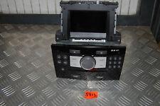 Opel Radio CD30 Mp3 Piano Schwarz mit Display