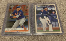 2 2019 Rookie Cards Topps Chrome Pete Alonso & Bowman Heritage Fernando Tatis Jr