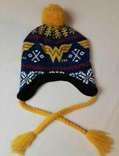 Wonder Woman Knit Hat - DC Comics - Beanie - Toboggan - One Size