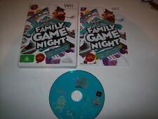 Hasbro Family Game Night  Nintendo Wii Game