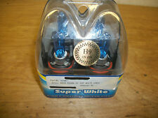 NEW SUPER SPOT XENON SUPER WHITE H9 65W 12V TWIN PACK BULBS